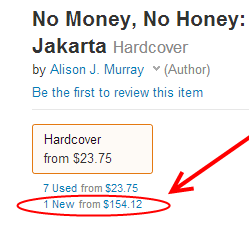 no money no honey on Amazon